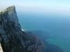 Claudia, Gibilterra, sfiorare l'Africa dall'Inghilterra in terra spagnola