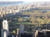 Enza, NY, osservando dall'alto Manhattan
