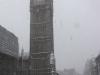 Sofia, Londra, la neve